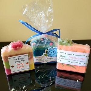 Handmade Soaps- set of three